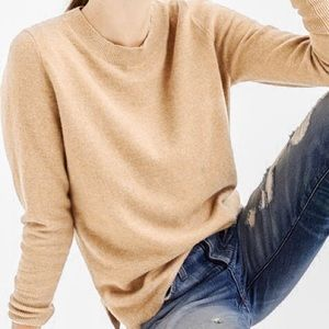 J. Crew Collection Isabel Cashmere Knit Sweater